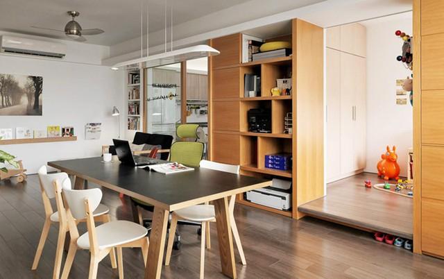 Căn hộ đẹp và lạ mắt của một kiến trúc sư tự thiết kế - Ảnh 5.