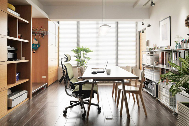 Căn hộ đẹp và lạ mắt của một kiến trúc sư tự thiết kế - Ảnh 6.