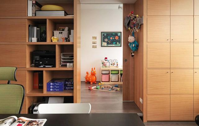 Căn hộ đẹp và lạ mắt của một kiến trúc sư tự thiết kế - Ảnh 7.