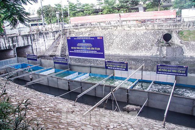 Hé lộ bí mật quy trình xử lý nước sông Tô Lịch bằng bảo bối Nhật - Ảnh 1.