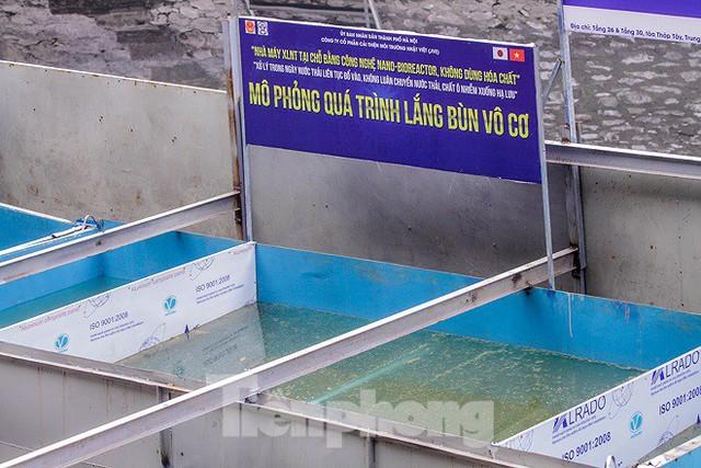 Hé lộ bí mật quy trình xử lý nước sông Tô Lịch bằng bảo bối Nhật - Ảnh 4.