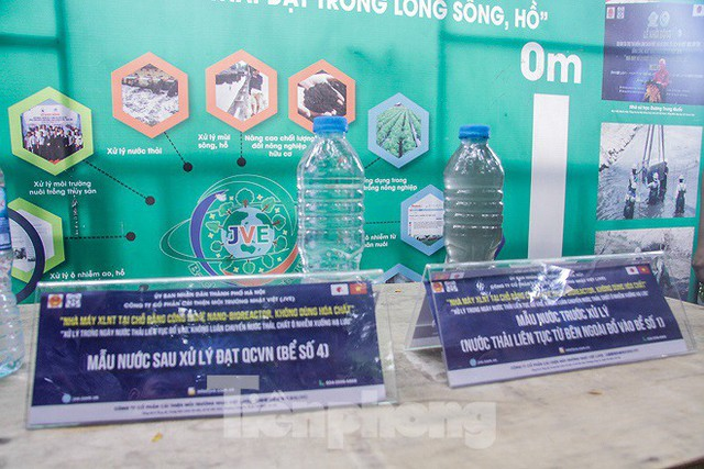 Hé lộ bí mật quy trình xử lý nước sông Tô Lịch bằng bảo bối Nhật - Ảnh 8.