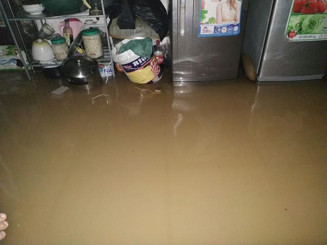 Thái Nguyên mưa lớn, đường biến thành sông, nhà cửa ô tô chìm trong nước - Ảnh 7.