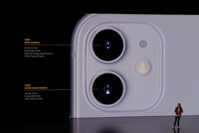 iPhone 11 chính thức ra mắt: camera kép góc siêu rộng, có tính năng chụp đêm, chip A13 Bionic, pin tốt, giá chỉ 699 USD - Ảnh 3.