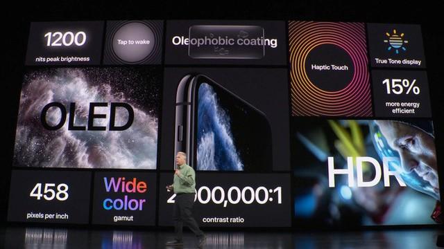 Apple ra mắt iPhone 11 Pro và iPhone 11 Pro Max: Thiết kế pro, màn hình pro, hiệu năng pro, pin pro, camera pro và mức giá cũng pro - Ảnh 4.