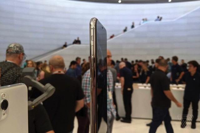Cận cảnh iPhone 11 Pro và 11 Pro Max: Mặt lưng kính mờ, cụm camera hài hước, không thực sự có nhiều cải tiến - Ảnh 5.