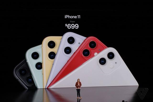 iPhone 11 chính thức ra mắt: camera kép góc siêu rộng, có tính năng chụp đêm, chip A13 Bionic, pin tốt, giá chỉ 699 USD - Ảnh 8.