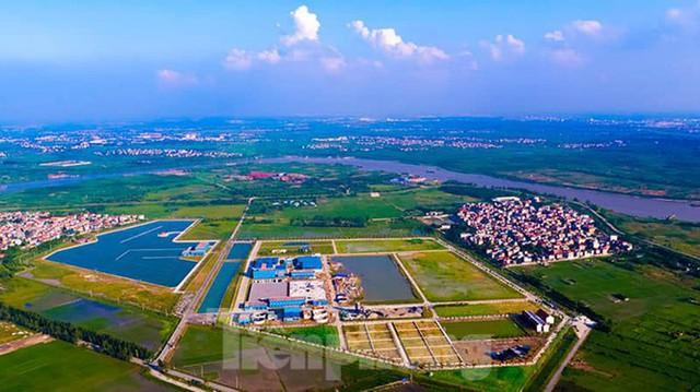 Cận cảnh nhà máy nước sạch lớn nhất Hà Nội có thể uống tại vòi - Ảnh 1.