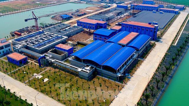 Cận cảnh nhà máy nước sạch lớn nhất Hà Nội có thể uống tại vòi - Ảnh 2.