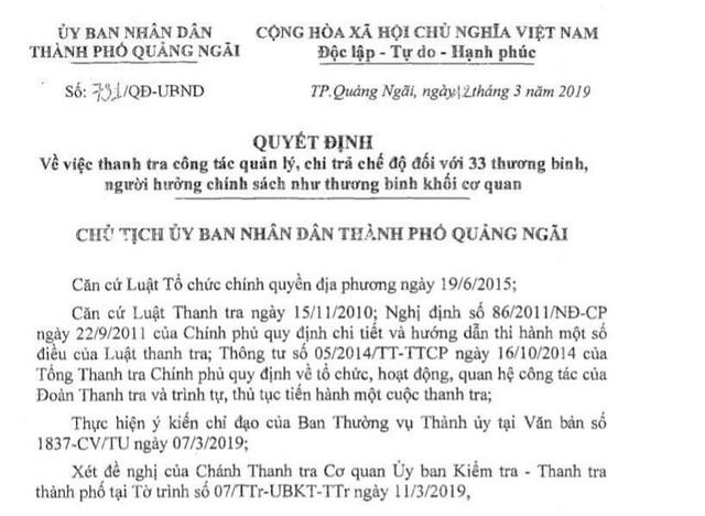 Bắt giam phó cơ quan Tổ chức - Nội vụ TP Quảng Ngãi - Ảnh 2.