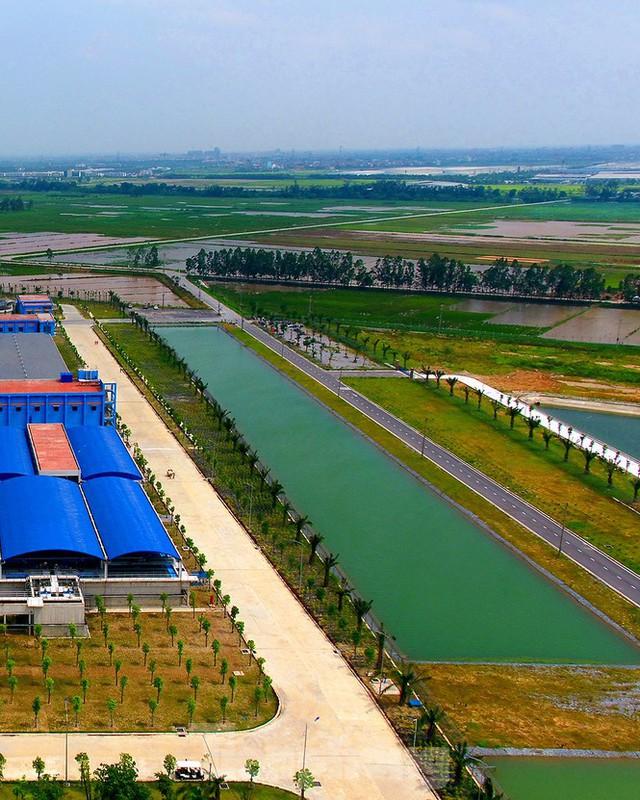 Cận cảnh nhà máy nước sạch lớn nhất Hà Nội có thể uống tại vòi - Ảnh 4.