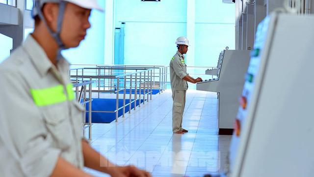 Cận cảnh nhà máy nước sạch lớn nhất Hà Nội có thể uống tại vòi - Ảnh 5.