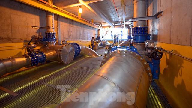 Cận cảnh nhà máy nước sạch lớn nhất Hà Nội có thể uống tại vòi - Ảnh 7.
