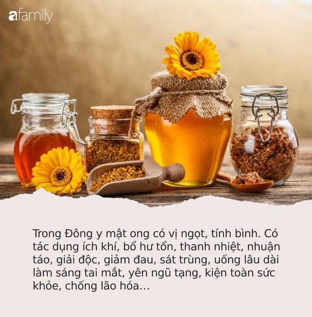 Thực phẩm không nên dùng chung với mật ong, nhiều người đang phạm sai lầm mà không hề hay biết - Ảnh 1.