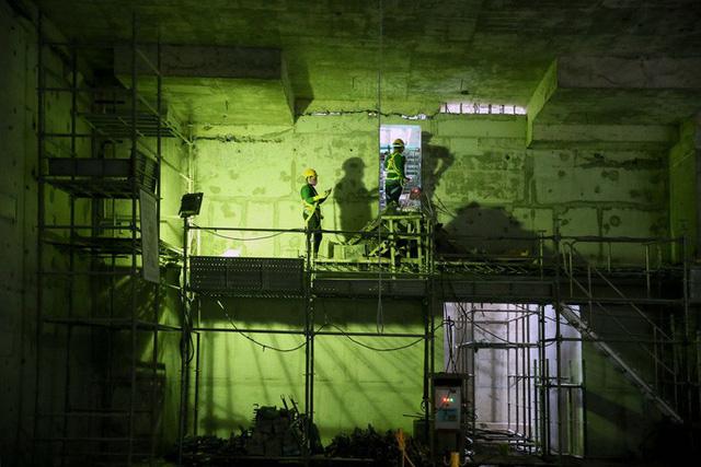 Diện mạo đường hầm Metro số 1 xuyên lòng đất tại trung tâm TP HCM - Ảnh 10.