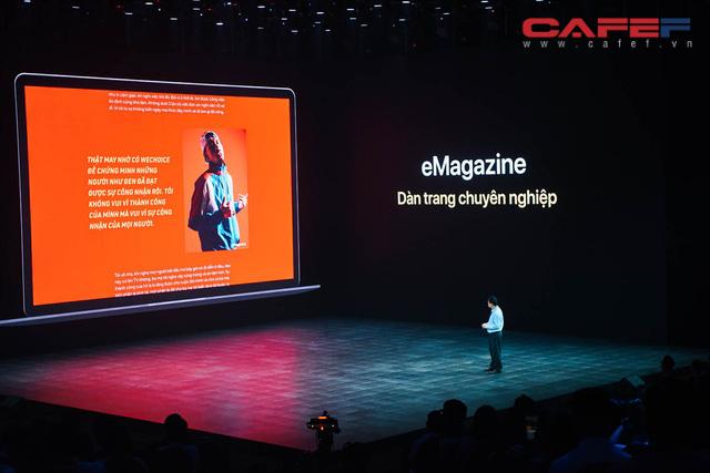 [Live] Tổng giám đốc VCCorp: Sẽ có những cột mốc Lotus phải chinh phục, mục tiêu 4 triệu, 20 triệu đến 60 triệu người dùng - Ảnh 2.