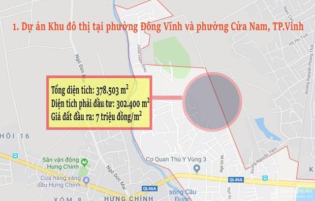 Nghệ An: Chi tiết 11 khu vực lớn dự kiến đấu giá đất ở - Ảnh 1.
