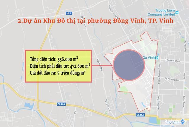 Nghệ An: Chi tiết 11 khu vực lớn dự kiến đấu giá đất ở - Ảnh 2.