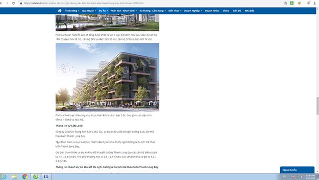 """""""Tuýt còi"""" siêu dự án Thanh Long Bay rao bán nhà trên giấy - Ảnh 2."""