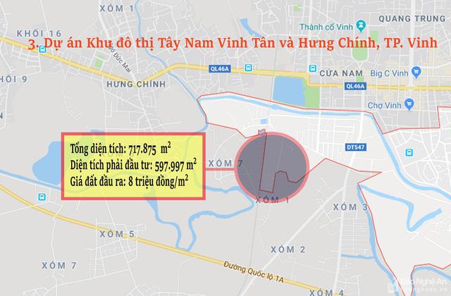 Nghệ An: Chi tiết 11 khu vực lớn dự kiến đấu giá đất ở - Ảnh 3.