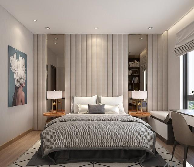Căn hộ 2 phòng ngủ sử dụng đồ nội thất sang trọng - Ảnh 4.