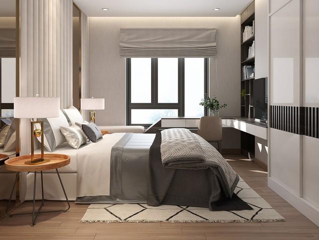 Căn hộ 2 phòng ngủ sử dụng đồ nội thất sang trọng - Ảnh 5.