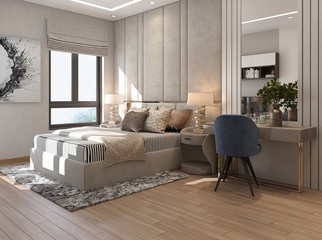 Căn hộ 2 phòng ngủ sử dụng đồ nội thất sang trọng - Ảnh 8.