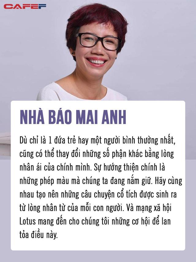 Nhà báo Mai Anh, Ninh Dương Lan Ngọc và Quang Hải truyền cảm hứng tới hàng triệu người Việt: MXH Lotus sẽ mang đến cơ hội lan tỏa niềm tự hào giá trị Việt Nam - Ảnh 1.