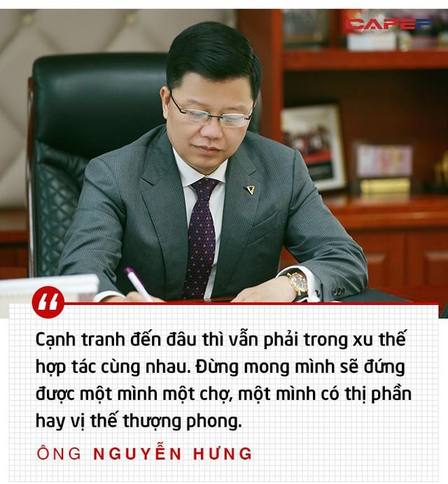 CEO TPBank Nguyễn Hưng: Đầu tư công nghệ là mạo hiểm, vài trăm tỷ đến nghìn tỷ đi như không, nhưng chẳng lẽ không dám làm? - Ảnh 8.