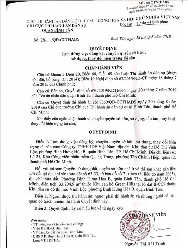 Người mua nhà dự án Green Town Bình Tân lâm vào thế khó - Ảnh 1.