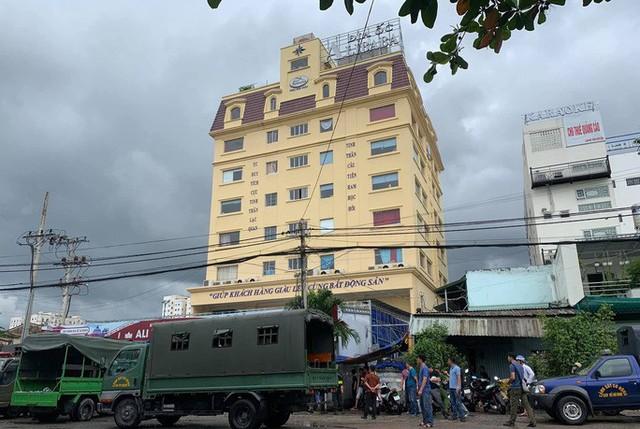 Công an bắt ông Nguyễn Thái Lĩnh và đang khám xét trụ sở Công ty Alibaba  - Ảnh 7.