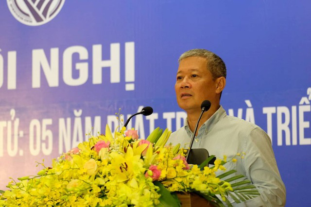 Thứ trưởng Nguyễn Thành Hưng: Cần phát triển thị trường giao dịch điện tử, hướng đến nền kinh tế số - Ảnh 1.