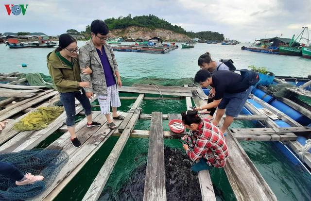 Khám phá nghề nuôi cá lồng bè thu tiền tỷ ở Nam Du - Ảnh 2.