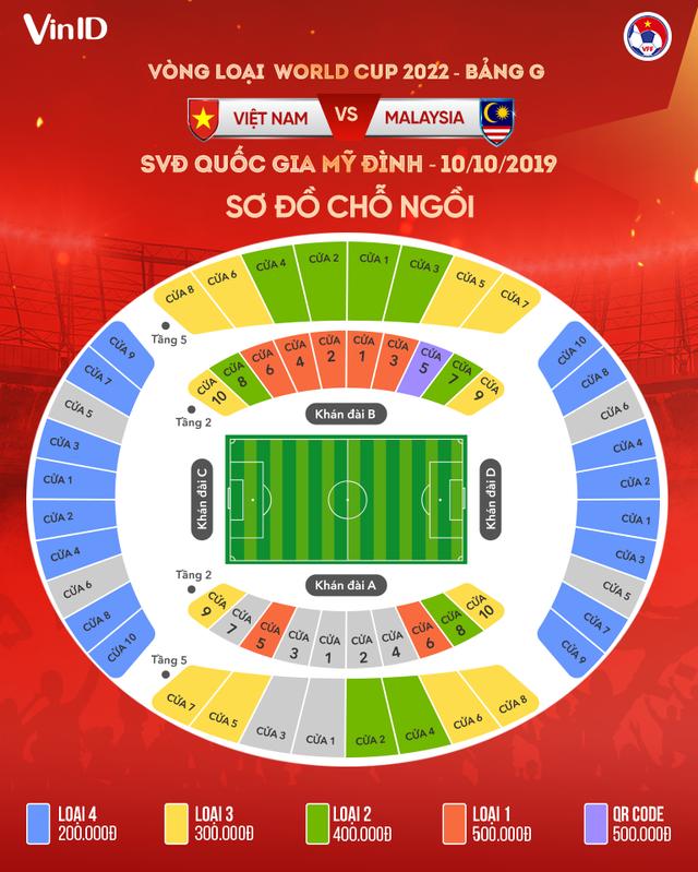 Cháy vé xem trận ĐT Việt Nam - ĐT Malaysia - Ảnh 3.