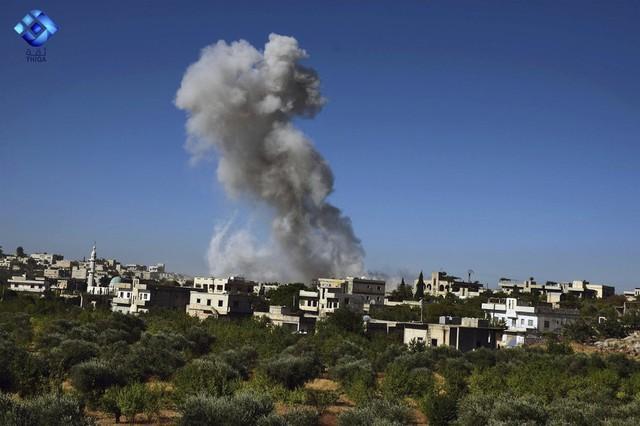 Nga gay gắt Mỹ không kích Syria - Ảnh 1.
