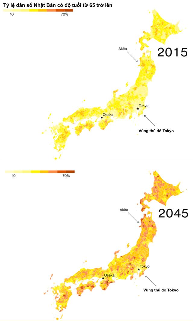 Kinh tế Nhật Bản bị chia rẽ sâu sắc, chính phủ đau đầu không tìm thấy hướng đi: Dòng người bỏ quê lên thành phố không có dấu hiệu chững lại, người già sống trong sợ hãi ở những khu vực đang chết dần - Ảnh 1.