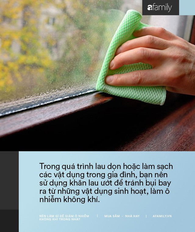 11 cách bạn có thể làm để giảm ô nhiễm không khí trong nhà trong những ngày Hà Nội, Sài Gòn đều ô nhiễm nặng nề - Ảnh 2.