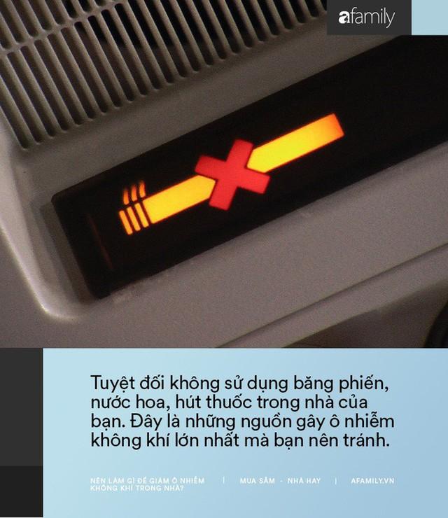 11 cách bạn có thể làm để giảm ô nhiễm không khí trong nhà trong những ngày Hà Nội, Sài Gòn đều ô nhiễm nặng nề - Ảnh 7.