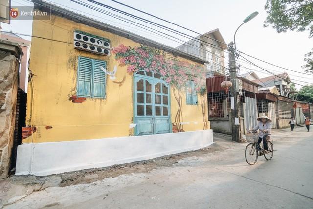 7 sinh viên biến làng trồng rau củ thành làng bích họa đầu tiên của Hà Nội - Ảnh 15.