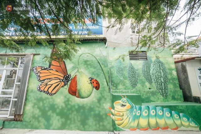 7 sinh viên biến làng trồng rau củ thành làng bích họa đầu tiên của Hà Nội - Ảnh 4.