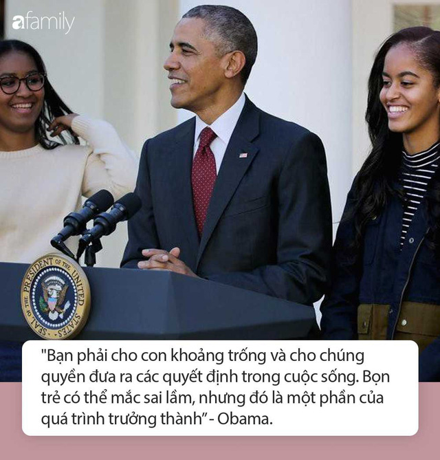 Tư tưởng dạy 2 cô con gái của vợ chồng cựu Tổng thống Obama: Chông gai và 1 trái tim tan vỡ là điều cần thiết để con trưởng thành - Ảnh 1.
