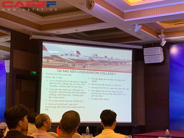Ông Phan Xuân Đức, Tổng giám đốc Vinpearl Air: 20 năm nữa Việt Nam thiếu 10.000-15.000 phi công - Ảnh 3.