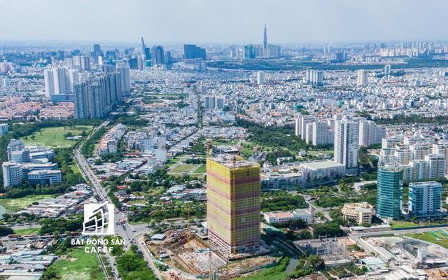 Giá căn hộ khu Nam Sài Gòn đang tăng nóng, cung không đủ cầu - Ảnh 1.
