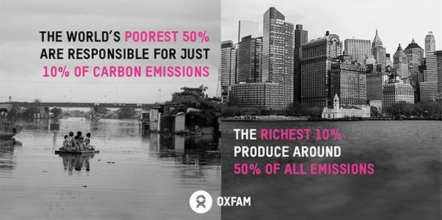 Câu hỏi Người giàu hay người nghèo tạo ra nhiều khí thải hơn? và gốc rễ của việc ứng phó với biến đổi khí hậu - Ảnh 1.