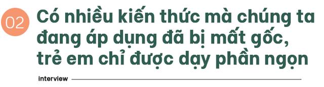 """TS Từ Ngữ: Bí quyết sống khỏe là một """"vòng tròn khép kín, nhưng con em chúng ta đang mất gốc! - Ảnh 1."""