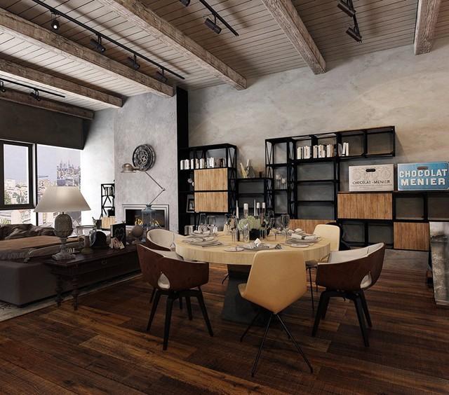 Tham khảo cách thiết kế phòng ăn đơn giản, mộc mạc và tinh tế - Ảnh 2.