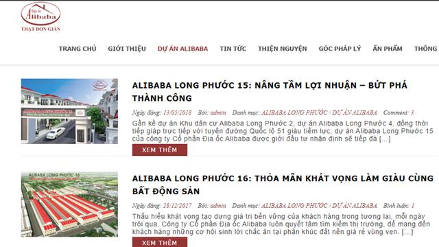"""Alibaba tự tháo dỡ """"văn phòng"""" trái phép tại Đồng Nai - Ảnh 1."""