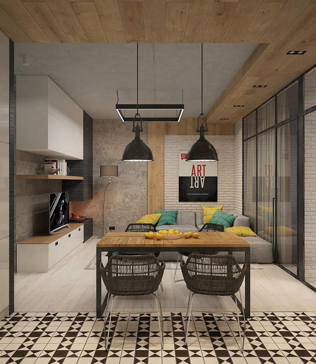 Tham khảo cách thiết kế phòng ăn đơn giản, mộc mạc và tinh tế - Ảnh 3.