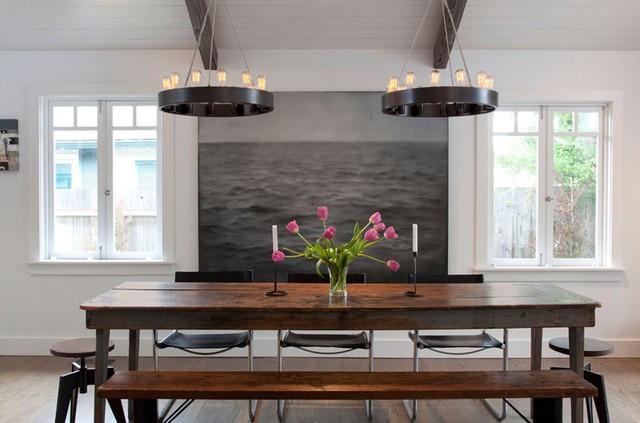 Tham khảo cách thiết kế phòng ăn đơn giản, mộc mạc và tinh tế - Ảnh 10.