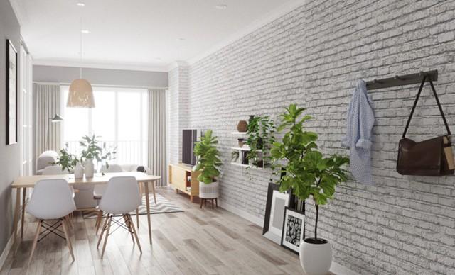 Ngắm căn hộ màu trắng đẹp tinh khôi - Ảnh 2.